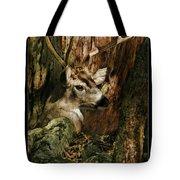 Tree And Buck Tote Bag