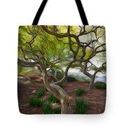 Tree At Norfolk Botanical Garden Tote Bag