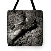 Tree Bark And Leaf Tote Bag