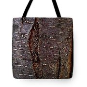 Tree Bark To The Left Tote Bag