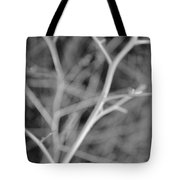Tree Branches Abstract Monochrome Tote Bag