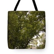 Tree Covered Tote Bag