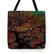 Tree Fabrica Abstract Graphic Tote Bag
