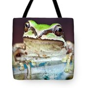 Tree Frog Tote Bag by Jean Noren