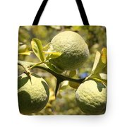 Tree Fruit Tote Bag