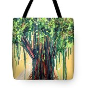 Tree Grit Tote Bag