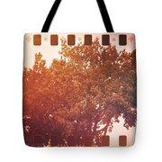 Tree Grunge Vintage Analog Film Tote Bag