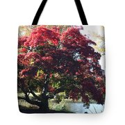Tree Hanging Into Lake Tote Bag
