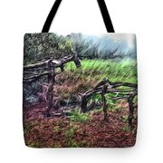 Tree Horse Tote Bag