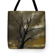 Tree In A Storm Tote Bag