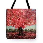 Tree In Fall Tote Bag