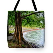 Tree In Paradise Tote Bag