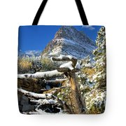 Tree In The Way Tote Bag