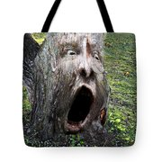 Tree Man Tote Bag