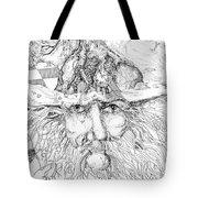 Tree Man Tote Bag