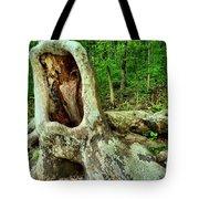 Tree Mouth Tote Bag