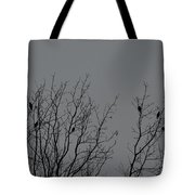 Tree Of Birds Tote Bag