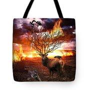 Tree Of Death Tote Bag