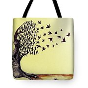 Tree Of Dreams Tote Bag by Paulo Zerbato