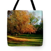 Tree Of Gold Tote Bag