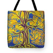 Tree Of Happiness Tote Bag