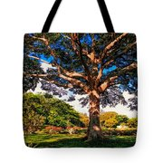 Tree Of Joy. Mauritius Tote Bag