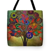 Tree Of Life 2. Version Tote Bag
