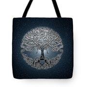 Tree Of Life Nova Blue Tote Bag