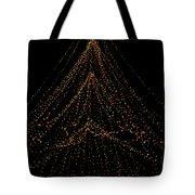 Tree Of Lights Tote Bag by Christi Kraft
