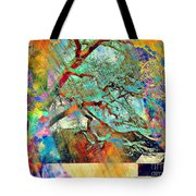 Tree Of Many Colors Tote Bag