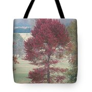 Tree Of Red Tote Bag