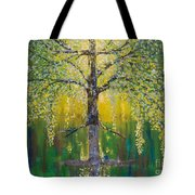 Tree Of Reflection Tote Bag