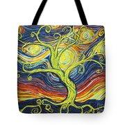 Tree Of Starlight Tote Bag