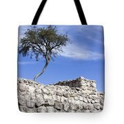 Tree On The Wall Tote Bag