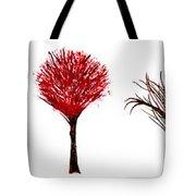 Tree Paintings In Wax Tote Bag