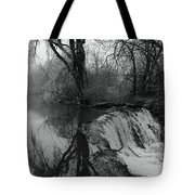 Tree Planted By The Rivers Tote Bag