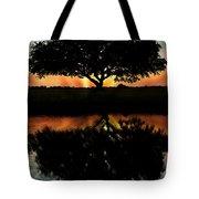 Tree Reflection Tote Bag
