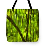 Tree Reflections Tote Bag by Adam Jewell