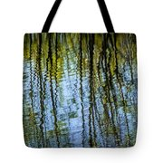 Tree Reflections On A Pond In West Michigan Tote Bag