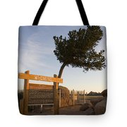 Tree Rock Wyoming Tote Bag