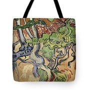 Tree Roots Tote Bag by Vincent Van Gogh