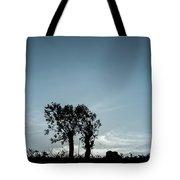 Tree Silhouette II Tote Bag