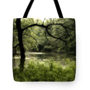 Tree Silhouette Tote Bag