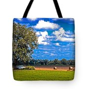 Tree Stands Alone- Vibrant Colors Tote Bag