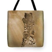 Tree Stump The Forgotten Series 05 Tote Bag