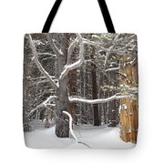 Tree Talk Tote Bag