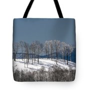 Tree Topper Hill Tote Bag