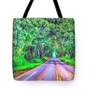 Tree Tunnel Kauai Tote Bag