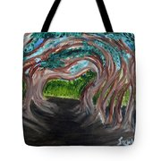 Tree Tunnel Tote Bag