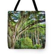 Tree-waimea Arboretum Tote Bag